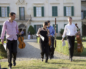 Concert at Villa di Geggiano (Photo: Rob Bouwmeester)