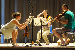 Rehearsal - Dvorak Terzetto