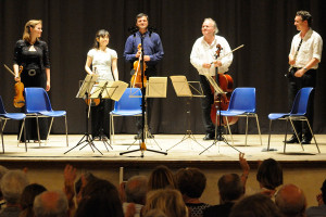 Concert applause - Mozart clarinet quintet