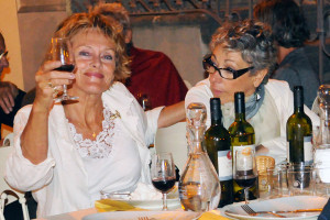 Post concert buffet dinner with Marianne and Ada gentile