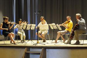 Rehearsal - Dvorak string quintet