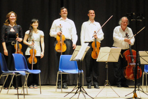 Concert applause - Dvorak string quintet