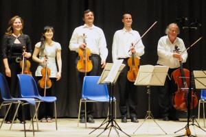 Concert applause - Dvorak string quintet