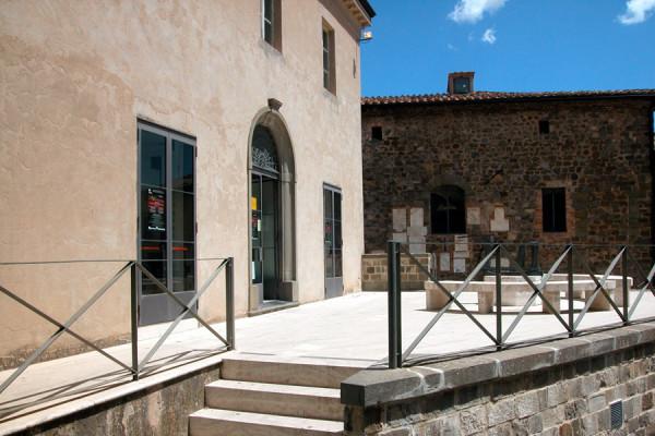 Terrace of Teatro degli Astrusi