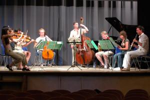 Schubert octet rehearsal 2007