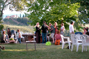 Midweek party for musicians, families and friends - 2007