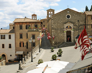 Montalcino - view from Teatro degli Astrusi