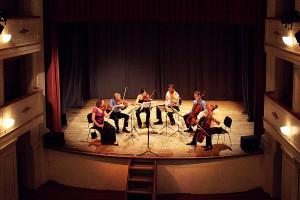 Concert - Brahms Sextet - Teatro degli Astrusi (Photo: Emelie Schäfer)
