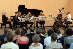 Concert - Mozart Grande Sestetto Concertante - Villa di Geggiano (Photo: Romain d'Ansembourg)