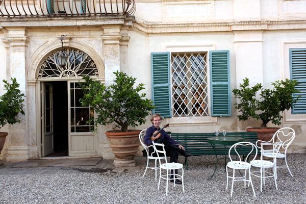 Tjeerd Top - pre-concert - Villa di Geggiano (Photo: Romain d'Ansembourg)