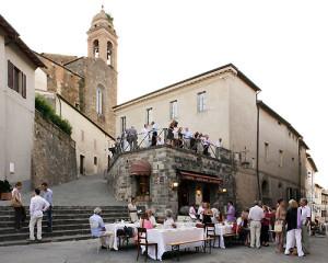 Montalcino - concert intermission