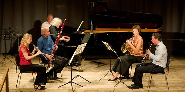 Concert Beethoven Quintet for piano and winds - Teatro degli Astrusi (Photo: Romain d'Ansembourg)