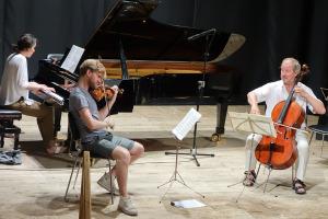 Rehearsal Shostakovich Trio - Teatro degli Astrusi