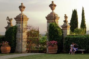 Villa di Geggiano gardens