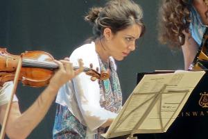 Gloria Campaner - rehearsal at Teatro degli Astrusi