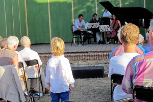 Concert - the new generation audience - Villa di Geggiano (Photo: Ellinor Busemann)