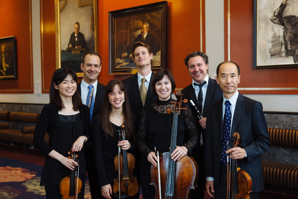 Musica Reale musicians for the Japan Tour 2015 (Photo: Seth Carnill) (Photographed in the Concertgebouw, Amsterdam)