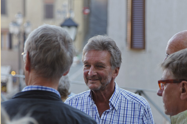 Peter - pre-concert - Teatro degli Astrusi (Photo: Rob Bouwmeester)