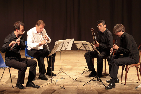 Concert - Françaix Quartet - Teatro degli Astrusi (Photo: Romain d'Ansembourg)