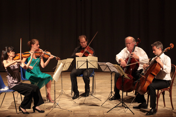 Concert - Schubert String quintet - Teatro degli Astrusi (Photo: Romain d'Ansembourg)