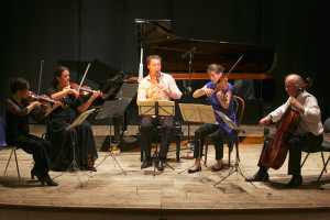 Concert - Mozart Clarinet quintet - Teatro degli Astrusi (Photo: Romain d'Ansembourg)