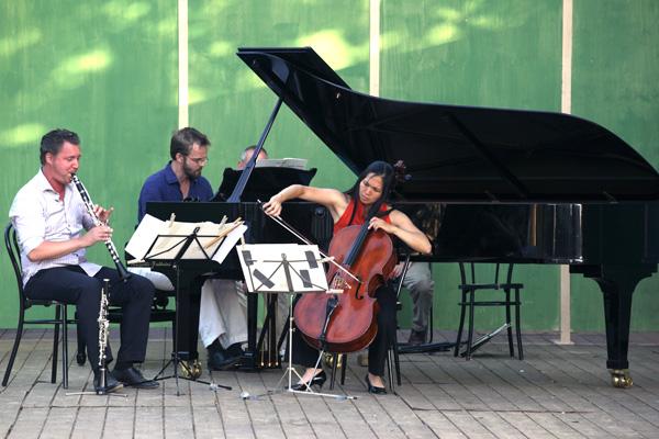 Concert - Zemlinsky Trio - Villa di Geggiano (Photo: Romain d'Ansembourg)