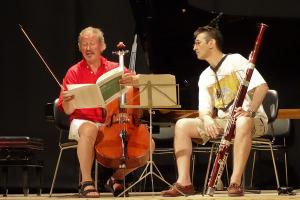 Rehearsal - Mozart Duo - Teatro degli Astrusi