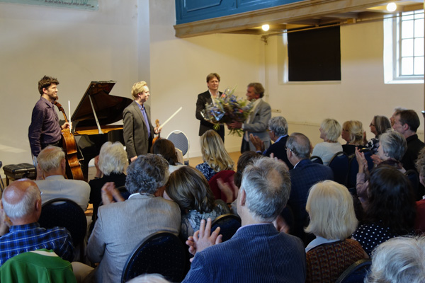 Vermeeer Trio applause, May 2014