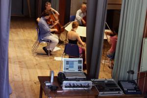 Rehearsal audio recording - Teatro degli Astrusi (Photo: Ari de Kok)