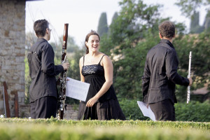 Concert time - Villa di Geggiano (Photo: Ari de Kok)