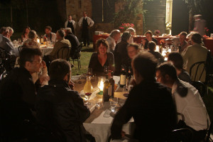 Buffet dinner with the musicians - Villa di Geggiano (Photo: Ari de Kok)
