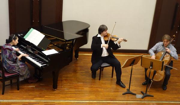 Rehearsal - Piano Trio - Tokyo Yaesu Hall