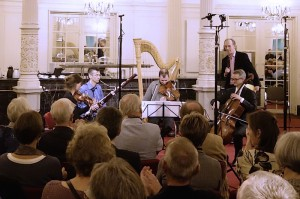 CD Devienne, live radio presentation with Hans van den Boom (NPO4) in the Spiegelzaal, Concertgebouw Amsterdam (18 October 2015)