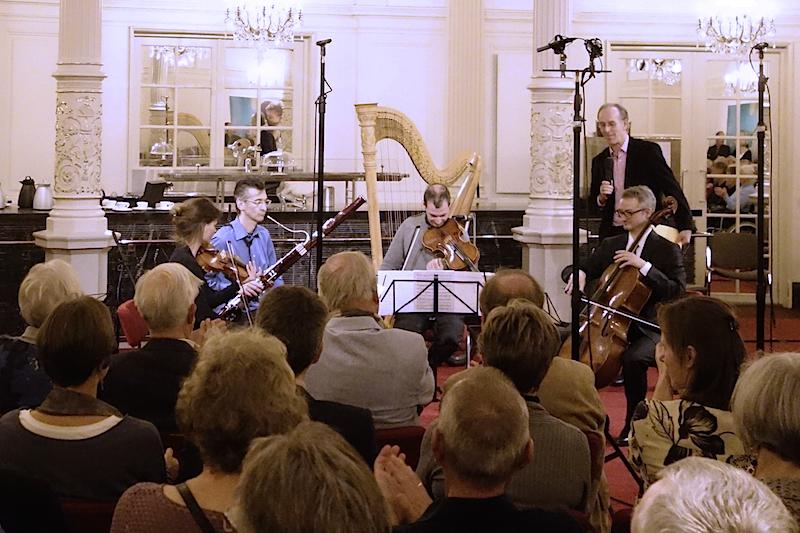 CD Devienne, live radio presentation with Hans van den Boom (NPO4) in the Spiegelzaal, Concertgebouw Amsterdam (18 October 2015)