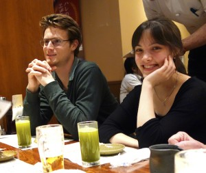 Dinner on arrival, Tokyo
