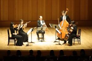 Concert - Schubert string quintet - Hamarikyu Asahi Hall, Tokyo