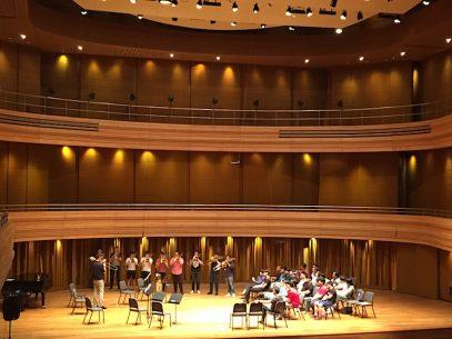 Trombone workshop, Yong Siew Toh Conservatory, Singapore (Photo: Christel Hon)